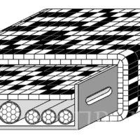 Огнезащита кабельной линии обрезка